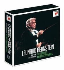 Sinfonie complete (Limited Edition) - CD Audio di Leonard Bernstein,Gustav Mahler,New York Philharmonic Orchestra