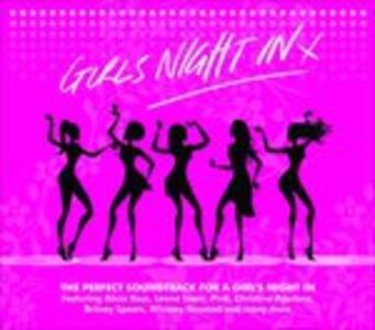 Girls Night In! X - CD Audio