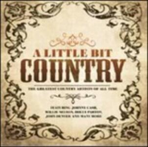 A Little Bit Country - CD Audio