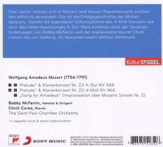 The Mozart Sessions - CD Audio di Chick Corea,Bobby McFerrin - 2