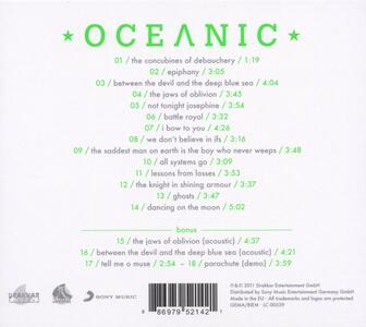 Oceanic - CD Audio di Emil Bulls - 2