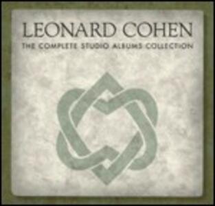 The Complete Studio Albums Collection - CD Audio di Leonard Cohen