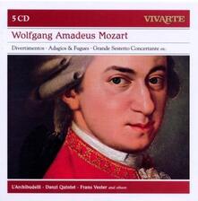 Divertimenti - Adagi e fughe - Grande sestetto concertante - CD Audio di Wolfgang Amadeus Mozart,L' Archibudelli