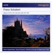 Messe D105, D167, D324, D452, D678, D872, D950 - CD Audio di Franz Schubert