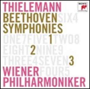 Sinfonie n.1, n.2, n.3 - CD Audio di Ludwig van Beethoven,Christian Thielemann,Wiener Philharmoniker