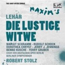 La vedova allegra - CD Audio di Franz Lehàr,Berliner Symphoniker,Robert Stolz,Rudolf Schock