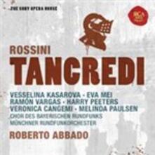 Tancredi - CD Audio di Gioachino Rossini,Ramon Vargas,Vesselina Kasarova,Eva Mei,Veronica Cangemi,Radio Symphony Orchestra Monaco,Roberto Abbado