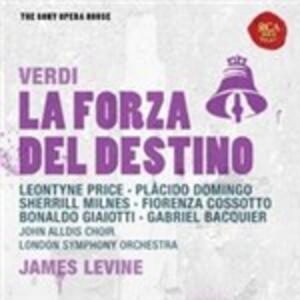 La forza del destino - CD Audio di Placido Domingo,Leontyne Price,Fiorenza Cossotto,Kurt Moll,Gabriel Bacquier,Giuseppe Verdi,James Levine,London Symphony Orchestra