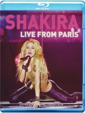 Film Shakira. Live From Paris Felix Barrett