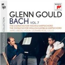 6 Sonate per violino e cembalo - 3 Sonate per viola da gamba e cembalo - CD Audio di Johann Sebastian Bach,Glenn Gould