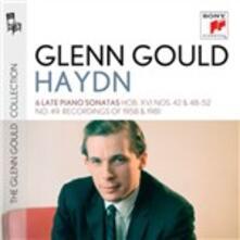 6 Sonate Hob. XVI n.42, nn.48-52 - CD Audio di Franz Joseph Haydn,Glenn Gould