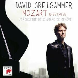 Mozart In-Between - CD Audio di Wolfgang Amadeus Mozart,David Greilsammer