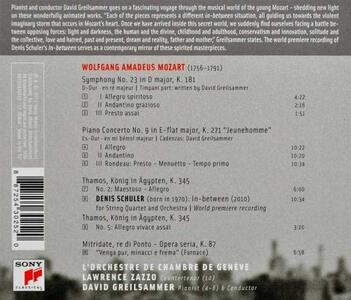 Mozart In-Between - CD Audio di Wolfgang Amadeus Mozart,David Greilsammer - 2