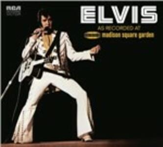 As Recorded at Madison Square Garden - CD Audio di Elvis Presley