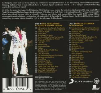 As Recorded at Madison Square Garden - CD Audio di Elvis Presley - 2