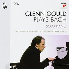 Bach Solo Piano - CD Audio di Johann Sebastian Bach,Glenn Gould