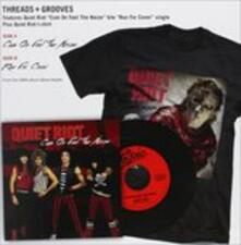 Threads & Grooves-Cum On Feel The Noize - Vinile 7'' di Quiet Riot