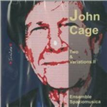 Two & Variations II - CD Audio di John Cage