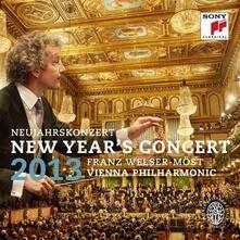 Concerto di Capodanno 2013 - CD Audio di Wiener Philharmoniker,Franz Welser-Möst