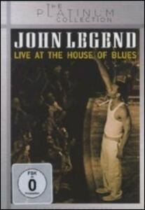 John Legend. Live at the House of Blues - DVD