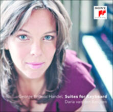 Suites per strumento a tastiera - CD Audio di Georg Friedrich Händel,Daria Van Den Bercken