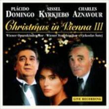 Christmas in Vienna III - Vinile LP di Charles Aznavour,Placido Domingo,Sissel Kyrkjebo