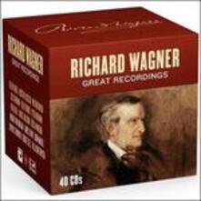 Le grandi registrazioni - CD Audio di Richard Wagner