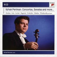 Concerti e sonate per violino - CD Audio di Itzhak Perlman