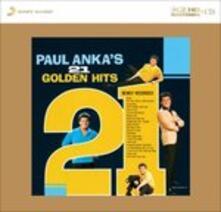 21 Golden Hits - CD Audio di Paul Anka