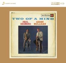 Two of a Mind (K2 Hd Mastering) - CD Audio di Paul Desmond