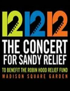 12-12-12. The Concert For Sandy Relief - DVD