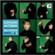 Sinfonie n.7, n.8 - CD Audio di Ludwig van Beethoven,Giovanni Antonini,Orchestra da camera di Basilea