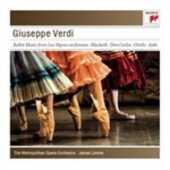 CD Musica da ballo dalle opere Giuseppe Verdi James Levine Metropolitan Orchestra
