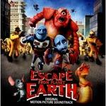 Cover CD Colonna sonora Fuga dal pianeta terra