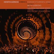 Sinfonia n.3 - Symphony of Sorrowful Songs op.36 - CD Audio di Krzysztof Penderecki,Henryk Mikolaj Gorecki,Beth Gibbons,Polish National Radio Symphony Orchestra