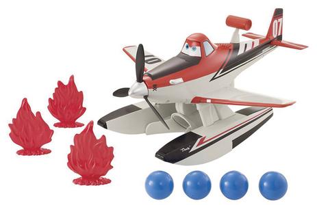 Giocattolo Planes Dusty Gigante Mattel