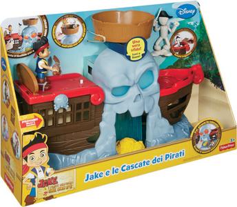 Giocattolo Jake e le Cascate dei Pirati Mattel