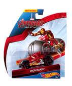 Giocattolo Hot Wheels: Moto da Corsa Avengers. Iron Man Hot Wheels