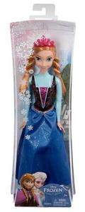 Giocattolo Disney Frozen. Anna scintillante Mattel 0