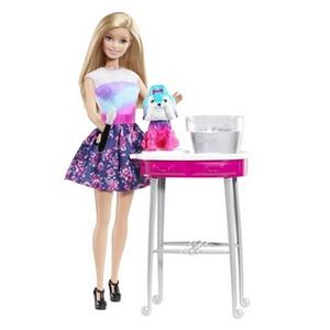 Giocattolo Barbie e Toilette Cuccioli Mattel 2