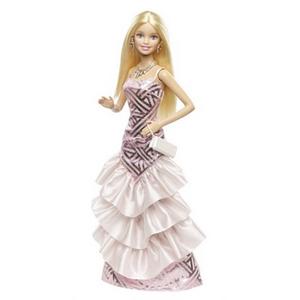Giocattolo Barbie. Gala in rosa Mattel 1