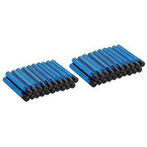 Giocattolo Boomco. 40 Dardi Extra Blu e Neri Mattel 1