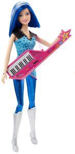 Giocattolo Barbie. Principessa Rock. Amica Rock con Tastiera Mattel