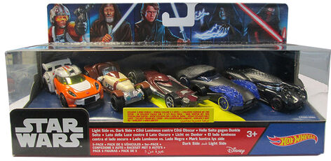 Giocattolo Hot Wheels. Star Wars. 5 Pack Hot Wheels
