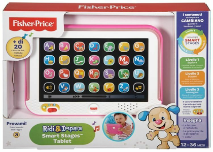 Giocattolo Smart Stages Tablet Rosa Mattel