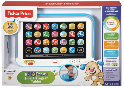 Giocattolo Smart Stages Tablet Azzurro Mattel 0
