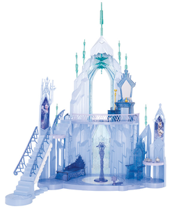 Giocattolo Disney Frozen. Castello di Elsa Mattel 0