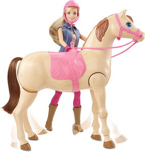 Giocattolo Barbie a Cavallo Mattel 0