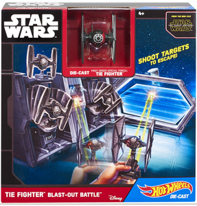 Giocattolo Hot Wheels. Star Wars. Navicella Spaziale Tie Fighter Hot Wheels 0