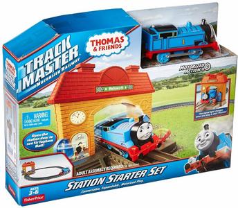 Giocattolo Thomas Trackmaster. La Stazione di Wellsworth Mattel 0